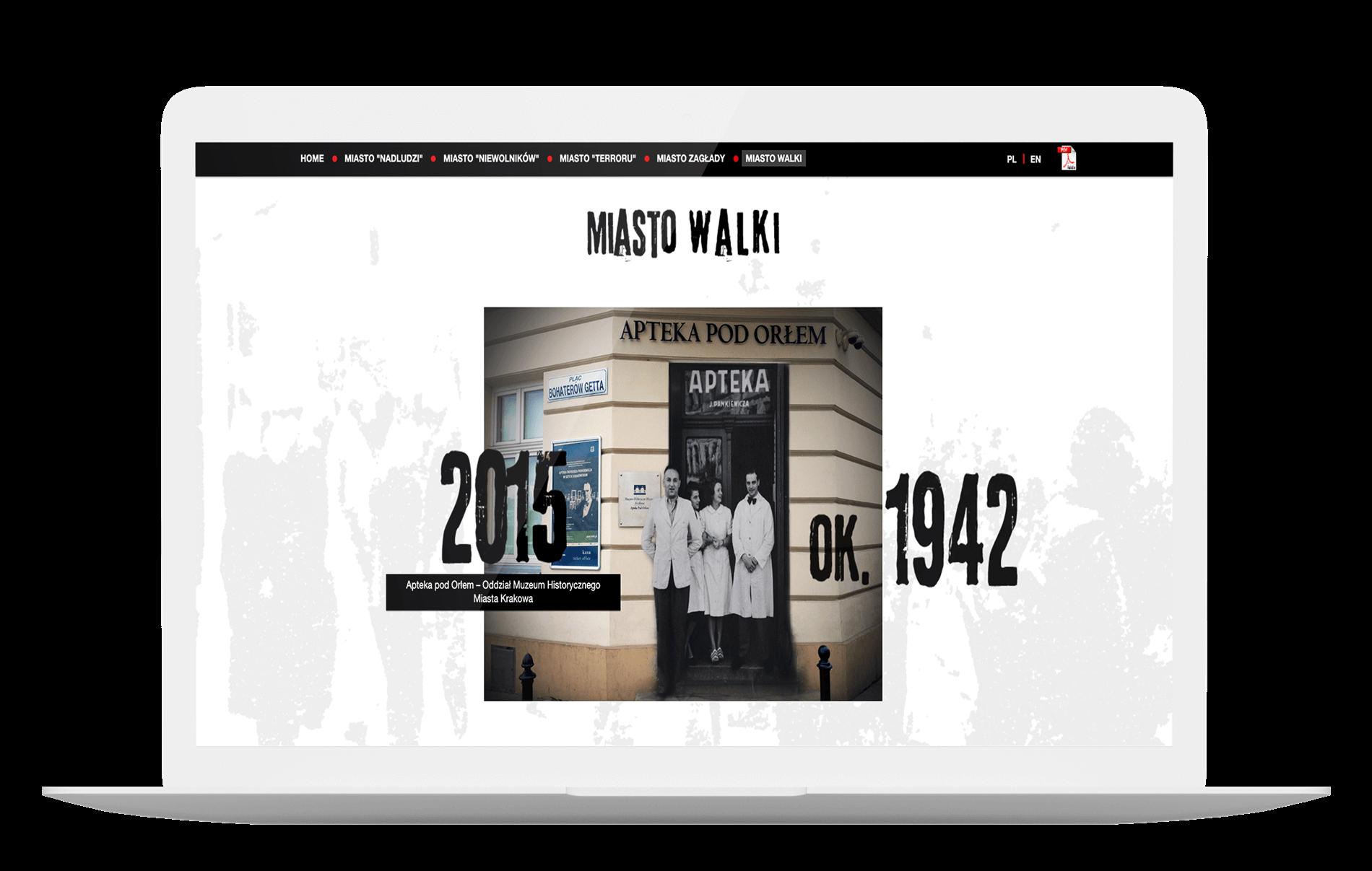 Projekt realizowany dla Instytutu Pamięci Narodowej stanowiący animowany pomost pomiędzy dzisiejszą rzeczywistością a czasem drugiej wojny światowej.